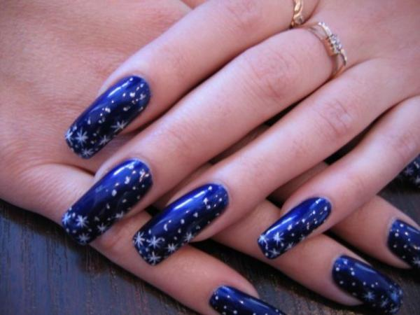 дизайн ногтей скорпион: