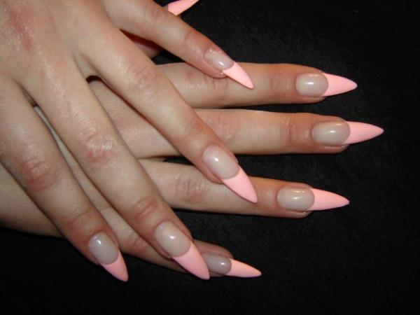 Сайт нарощенные ногти фото